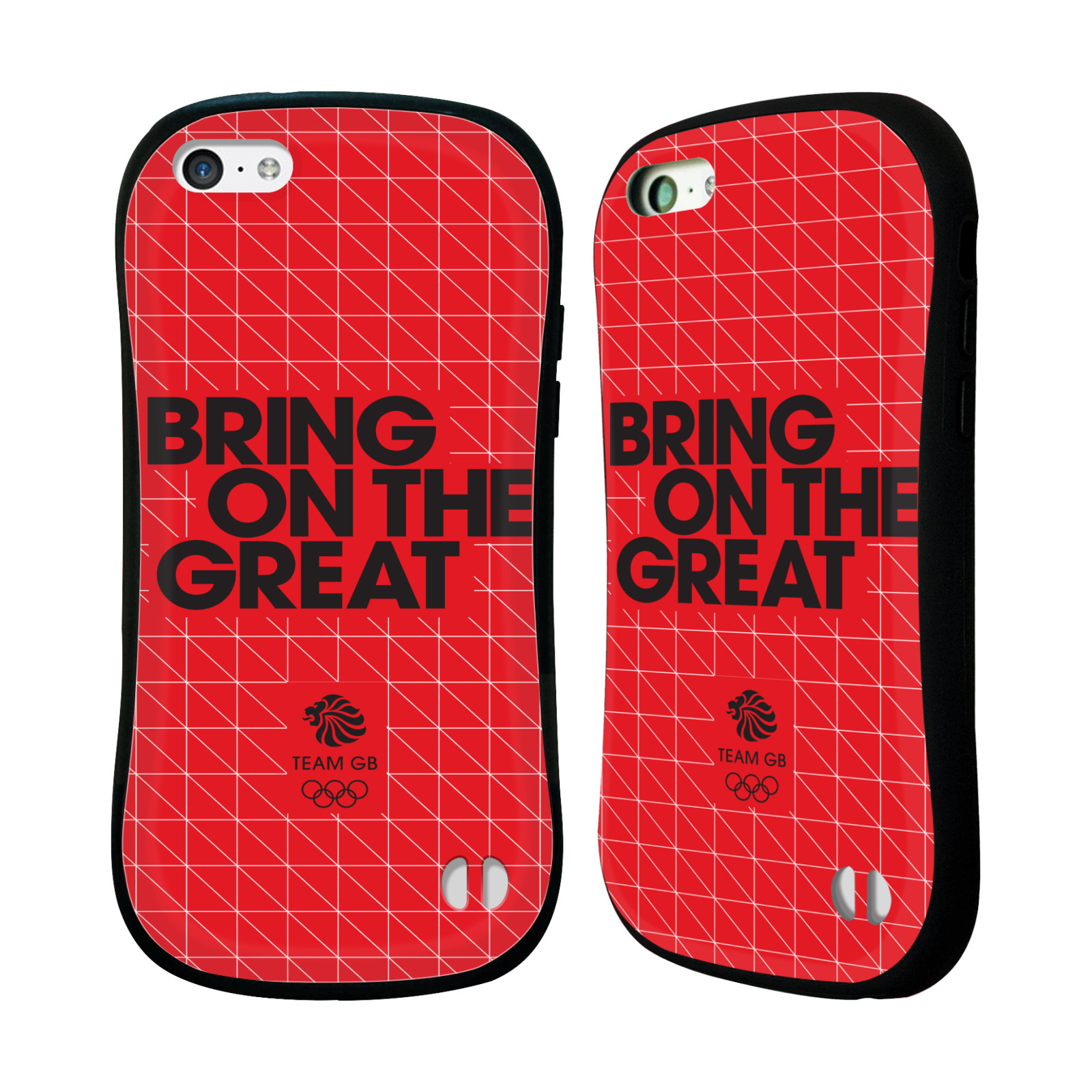 OFFICIAL TEAM GB BRITISH OLYMPIC ASSOCIATION BRING ON THE GREAT HYBRID CASE FOR APPLE IPHONES PHONES