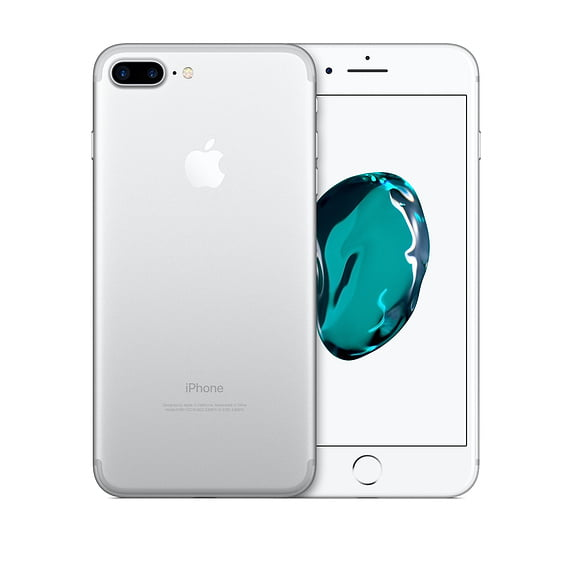 Refurbished Apple Iphone 7 Plus 128gb Silver Unlocked Gsm Walmart Com Walmart Com