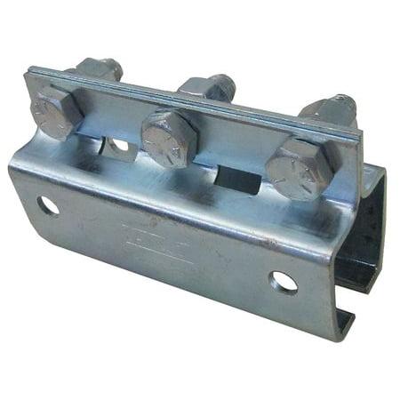 GLEASON C35-CP-01 Festoon Track Splice, C-Rail, Flat