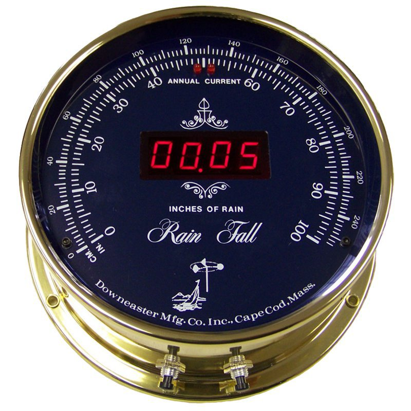 Downeaster Blue Dial Rain Fall Instrument
