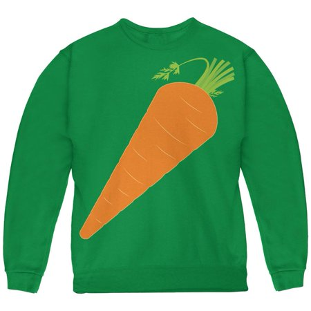 Halloween Vegetable Carrot Costume Youth Sweatshirt
