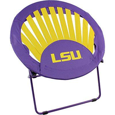 (College Covers Louisiana State University Tigers NCAA Rising Sun Bungee Chair)