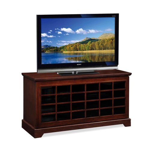 Leick 81050 Two-Way Sliding Grid Door 50-in TV Stand by Brand New