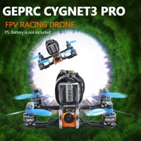 GEPRC Cygnet3 Pro 145mm FPV Racing Drone with Camera 1080P Frsky XM+ Receiver 48CH F4 1507 Motor 20A ESC BNF