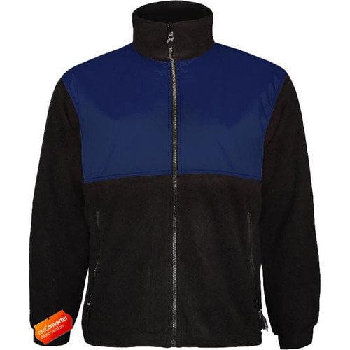 VIKING 4125J-L Rain Jacket w/Hood, 0.45mm PVC, Green, L
