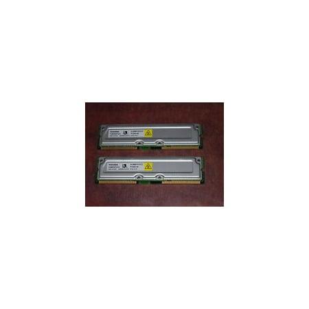 THMR2E16-8512MB RDRAM ECC PC-800 184 pin 800MHz, 45ns. Toshiba part # THMR2E16-8