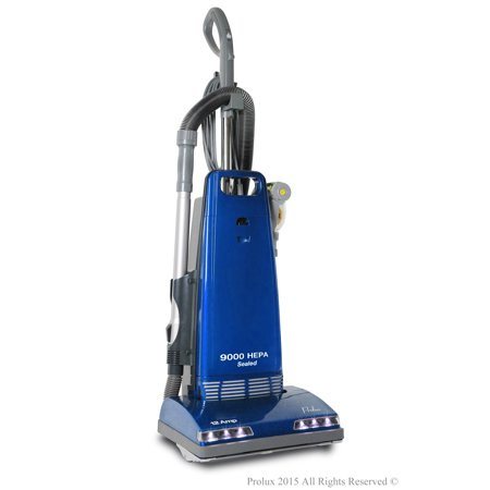 New Prolux 9000 Upright Sealed HEPA vacuum with 12 AMP Motor on board tools and 7 Year Warranty! ()