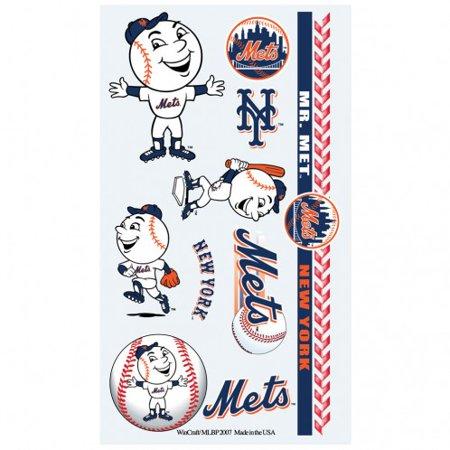 MLB New York Mets Temporary Tattoos (Baseball Tattoos)