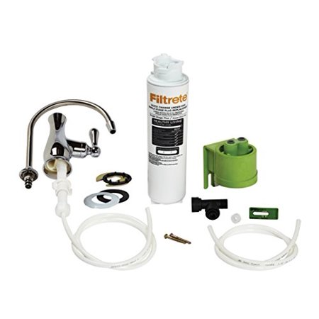 Filtrete High Performance Drinking Water System  Reduces 99  Lead  1 System With Dedicated Faucet  4Us Maxl S01
