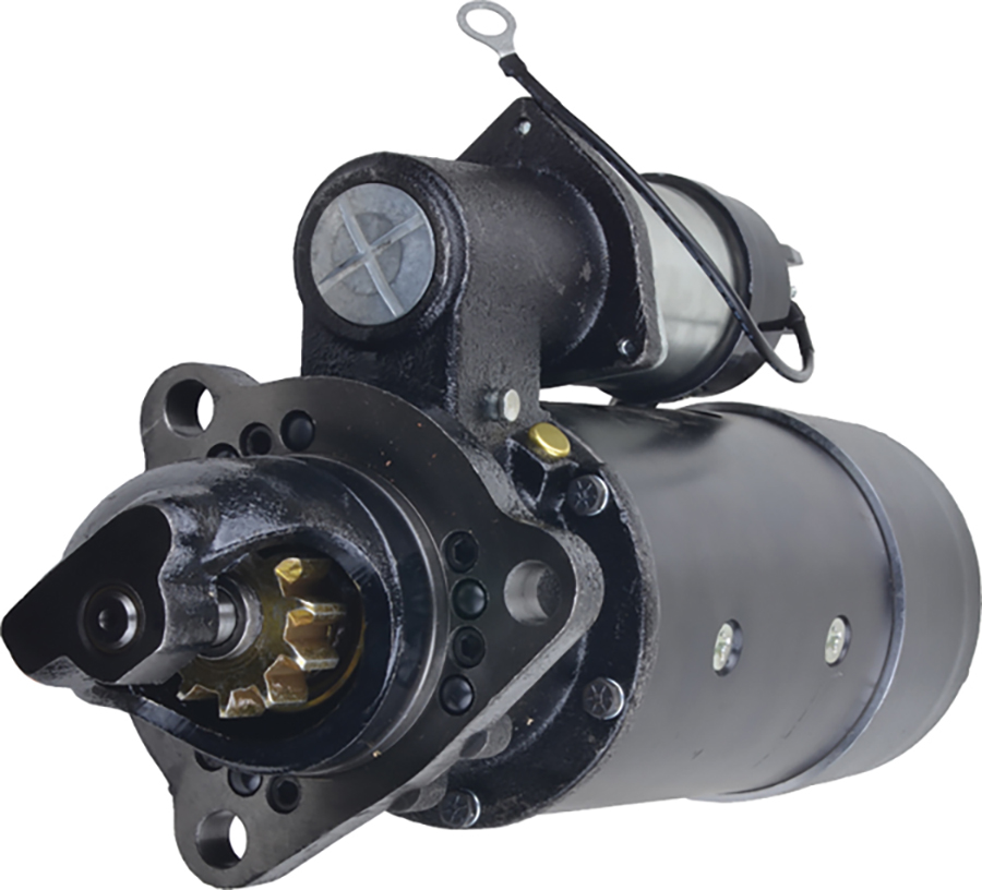 New Starter for Flxible 35096 1980 1981 1114006, 1114007, 1114008, 1114014, 1114059, 1114063, 1114080, 1114097, 1114702, 1114807, 1114808, 1114930, 1990395, 1990430, 1990439, 6261, 1108828, 1108849