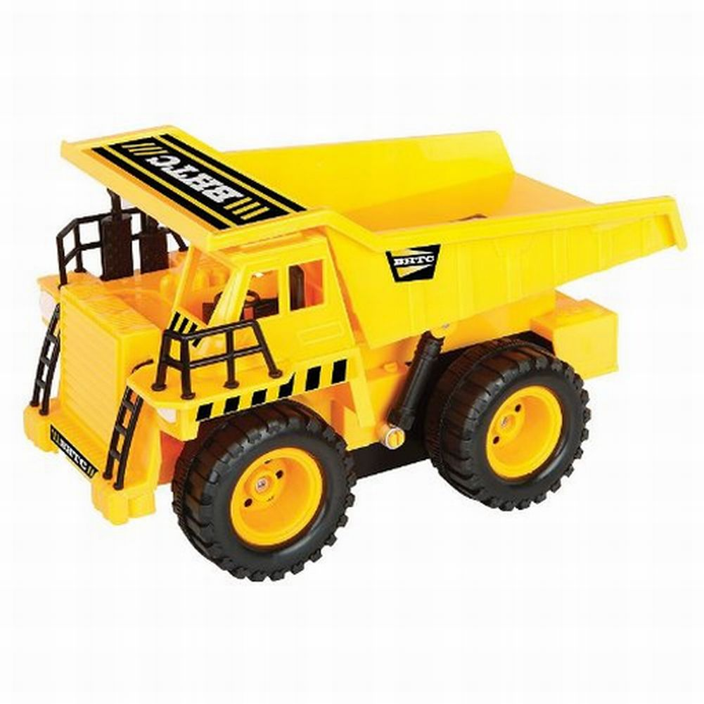 Blue Hat Toy Co Heavy Duty R/C Dump Truck Radio Control Construction Vehicle 49M
