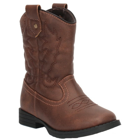 Wonder Nation Toddler Boys' Cowboy Boot (Best Boots For Standing On Concrete All Day)