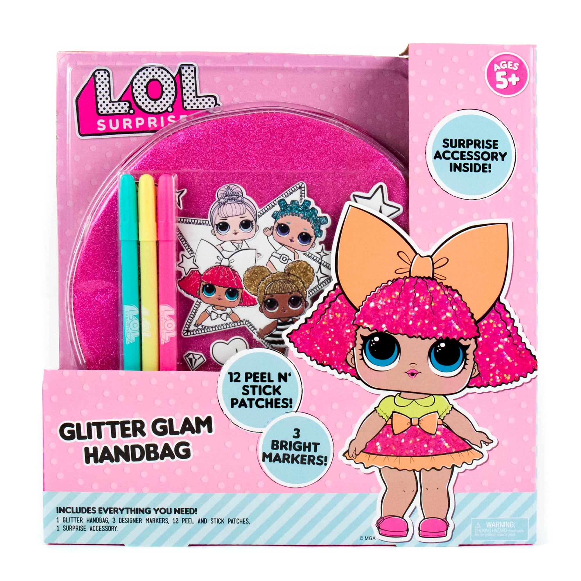 L.O.L. Surprise! Glitter Glam Bag
