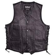 Mossi Mens Live To Ride Vest Size 48 Black P/N 20-108L-48