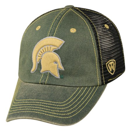 innovative design d8d16 195c5 Michigan State Spartans Adult NCAA Meshback Adjustable Cap - Green ...