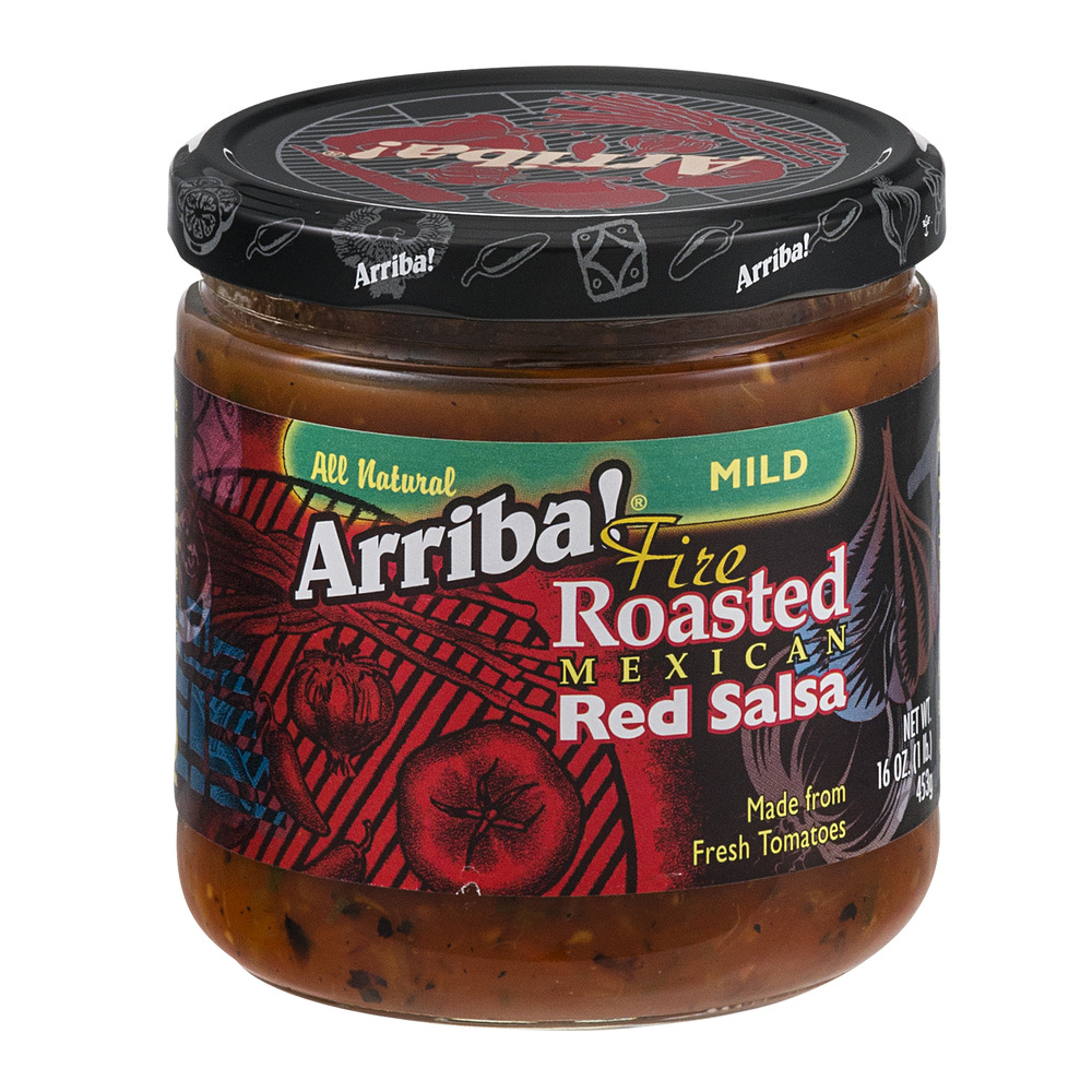 Arriba! Fire Roasted Mexican Red Salsa Mild, 16.0 OZ
