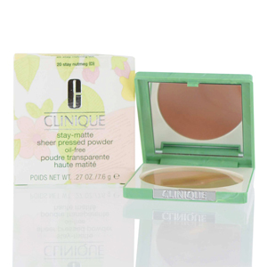 CLINIQUE/STAY-MATTE SHEER PRESSED POWDER 20 STAY NUTMEG .27 OZ