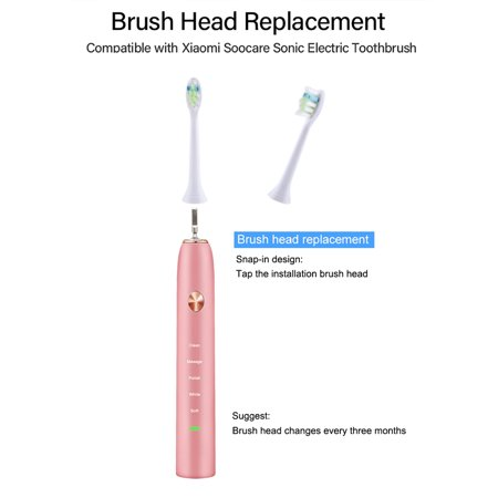 2pcs Toothbrush Heads Replacement Toothbrush Heads Cleaning Toothbrush Head for Xiaomi Soocare Electric Sonic Toothbrush - image 6 of 7