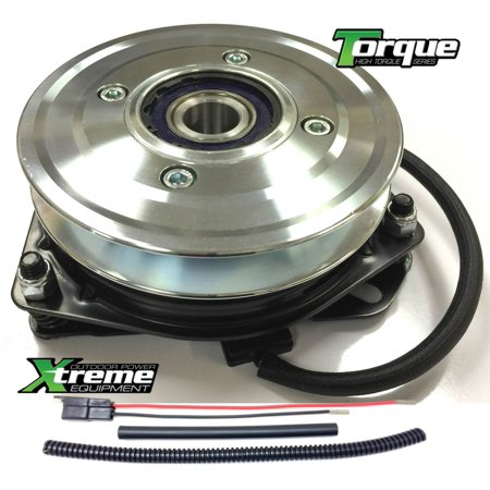 Bundle - 2 items: PTO Electric Blade Clutch, Wire Harness Repair Kit.  Replaces Ferris 5021145 PTO Clutch, Bearing Upgrade! w/ Wire Harness Repair Kit