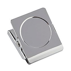 Office Depot Magnetic Clips, Silver, Pack Of 2, -