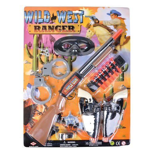 Cowboy and Bandit Playset