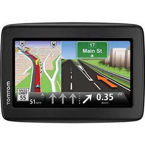 Refurbished TomTom VIA 1410M 4.3-Inch Portable GPS Navigator with Lifetime Maps by TomTom