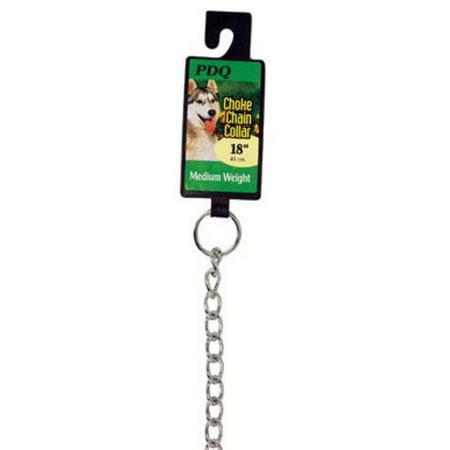 PDQ 12918 Choke Chain Collar, 18