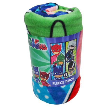 Kids PJ Masks Good Evil Fleece Throw Blanket 45