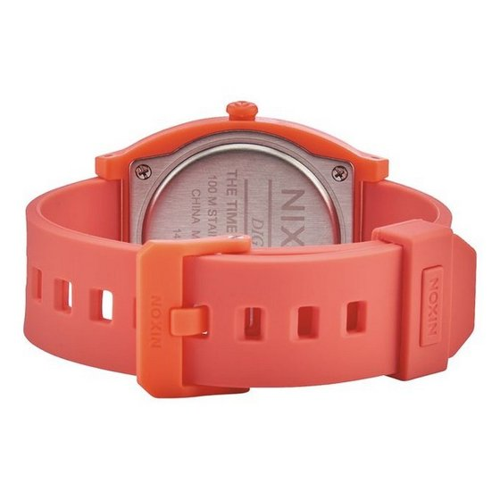 8b783dbb4 NIXON - Nixon A417-2054 Time Teller Unisex Orange Rubber Band With LCD  Digital Watch - Walmart.com