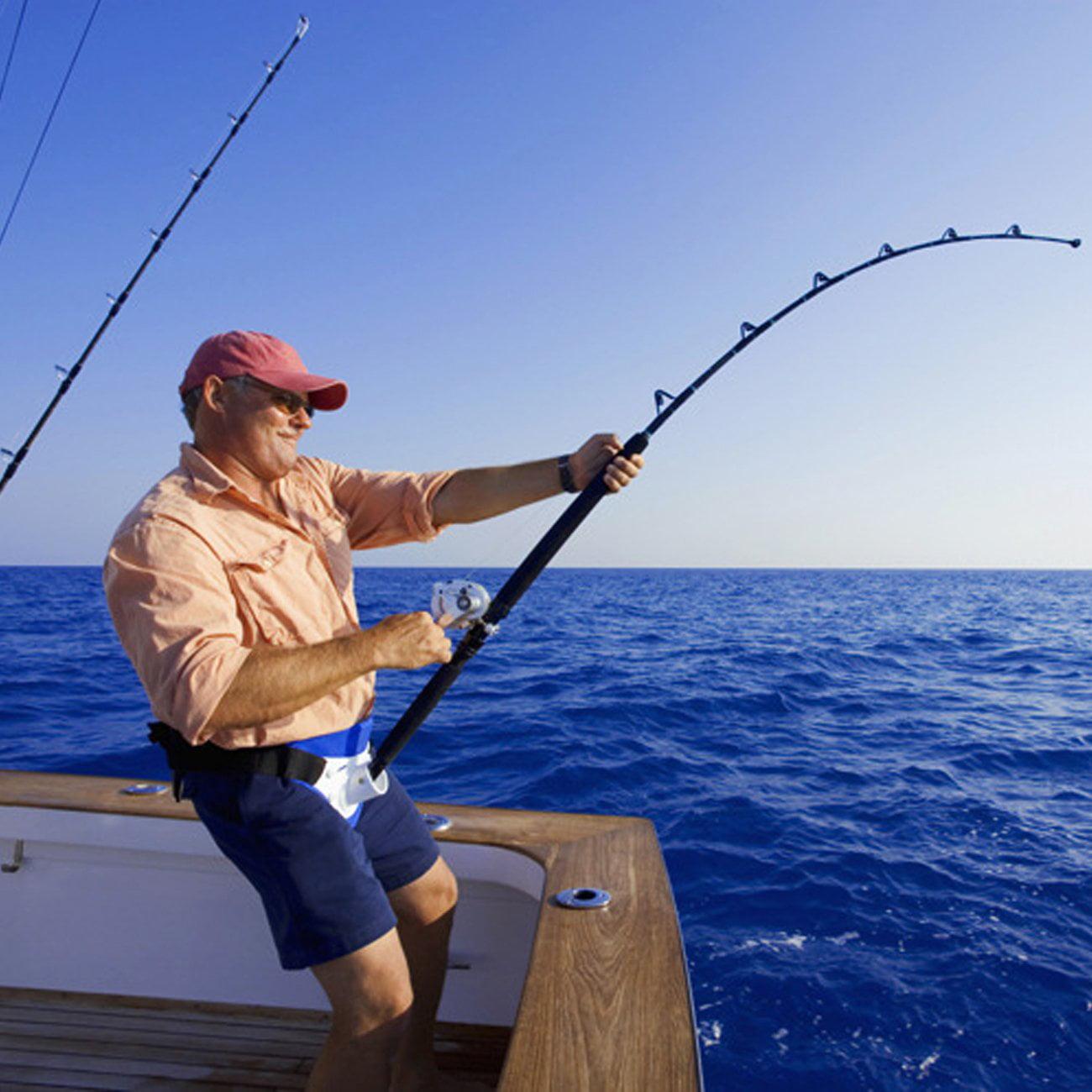 VGEBY Adjustable Fishing Fighting Belt Waist Rod Pole Holder fishing gear Color : Green