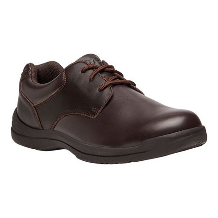 Propet Men's Marv Brown Ankle-High Leather Oxford Shoe -