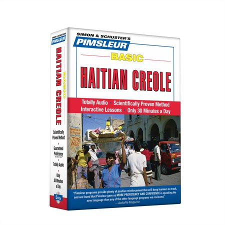 Pimsleur Haitian Creole Basic Course - Level 1 Lessons 1-10 CD : Learn to Speak and Understand Haitian Creole with Pimsleur Language Programs](Halloween Oral Language Lessons)