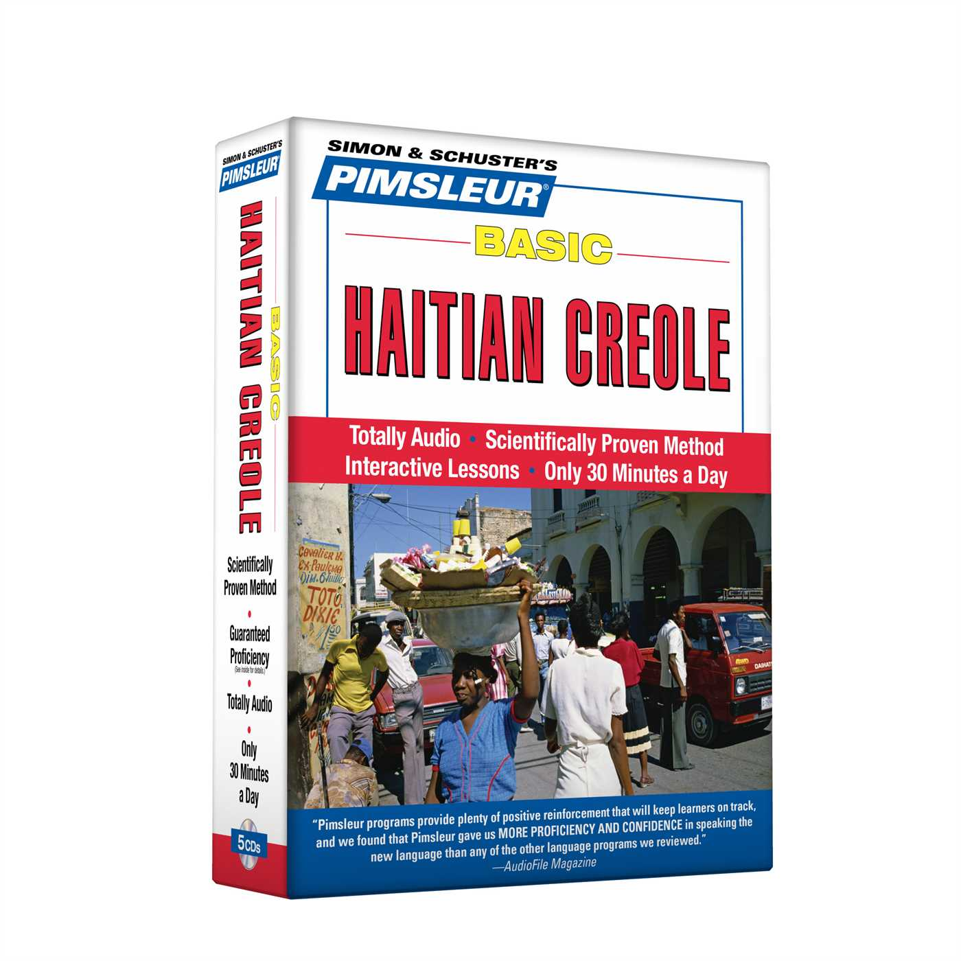 Pimsleur Haitian Creole Basic Course - Level 1 Lessons 1-10 CD : Learn to Speak and Understand Haitian Creole with Pimsleur Language Programs