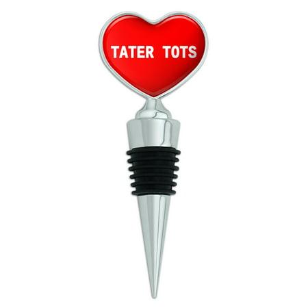 Tater Tots Heart Wine Bottle - Tater Tot Costume