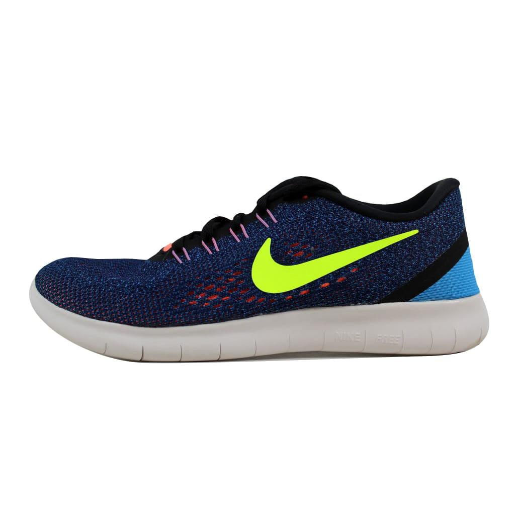 97be8c7765fb9 Nike Women s Free RN RN RN Purple Dynasty Volt-Black 831509 ...
