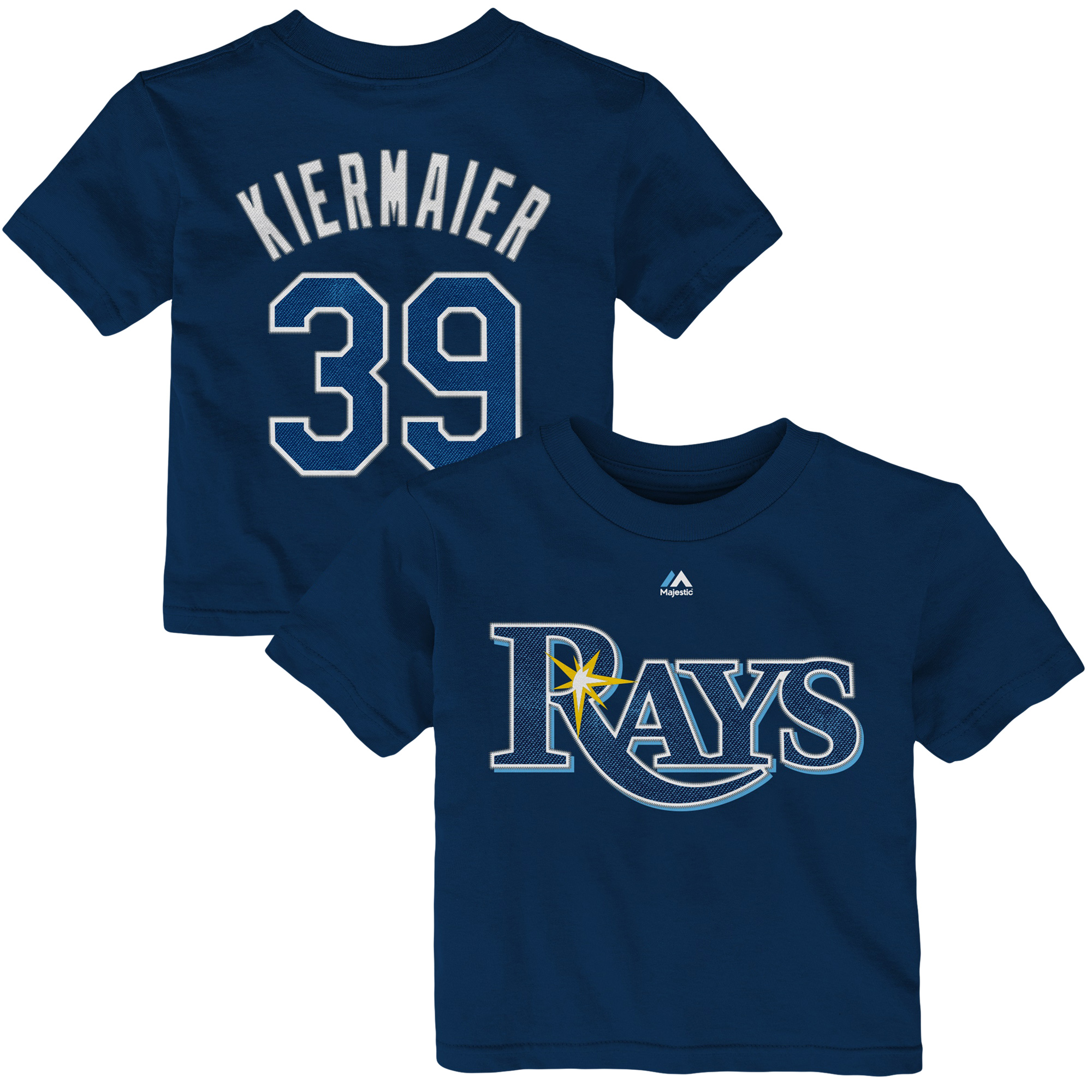 Kevin Kiermaier Tampa Bay Rays Majestic Infant Player Name & Number T-Shirt - Navy