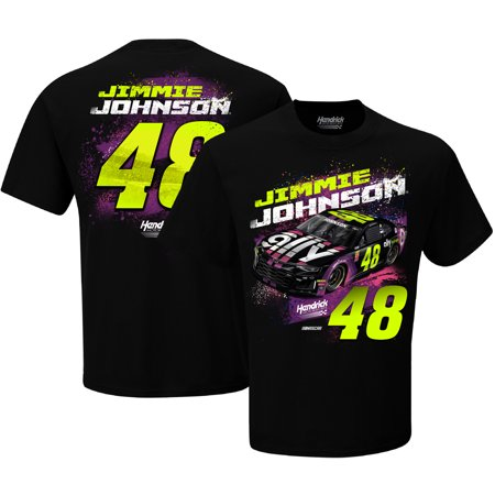 - Jimmie Johnson Hendrick Motorsports Team Collection Contender T-Shirt - Black