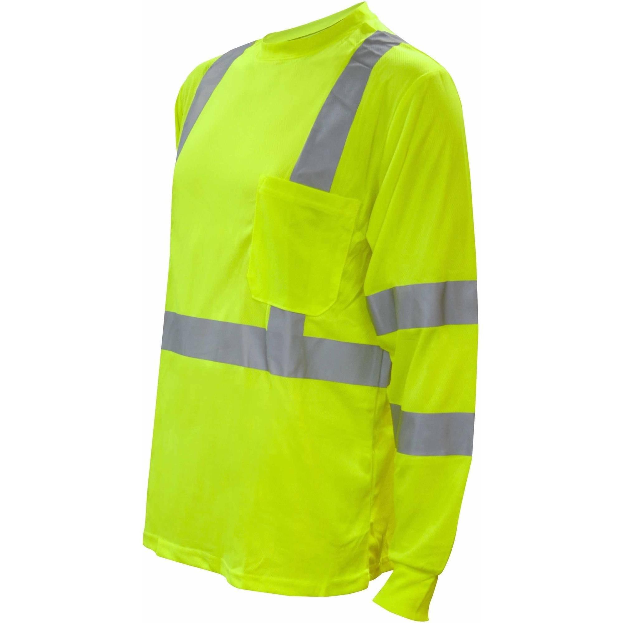 Cor-Brite Hi-Vis Orange Long Sleeve Shirt