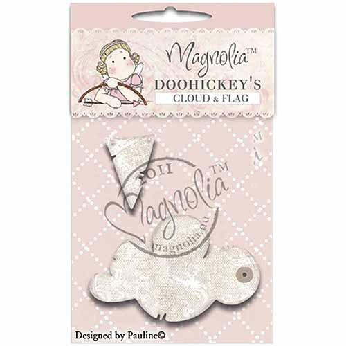 Magnolia Sweet Rainbow DooHickeys Dies-Cloud & Flag