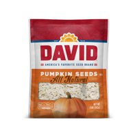 DAVID Roasted and Salted Pumpkin Seeds 5 oz