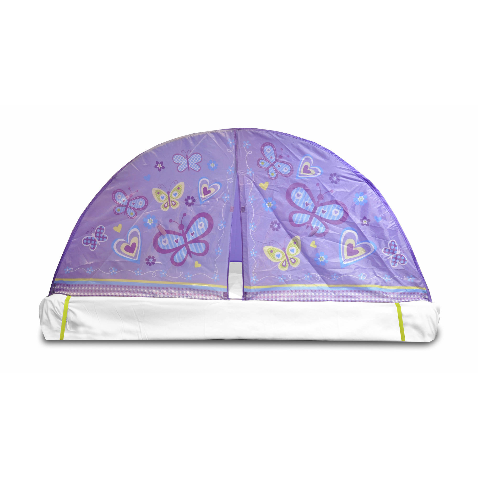 Kids Scene Lavender Butterfly Play Bed Tent Image 2 of 2  sc 1 st  Walmart : childrens tents at walmart - memphite.com