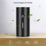 Kkmoon Active Oxygen Air Purifier Rechargeable Desktop Air Purifier Cleaner With 3 Modes Low Noise For Home Refrigerator Wardrobe Car