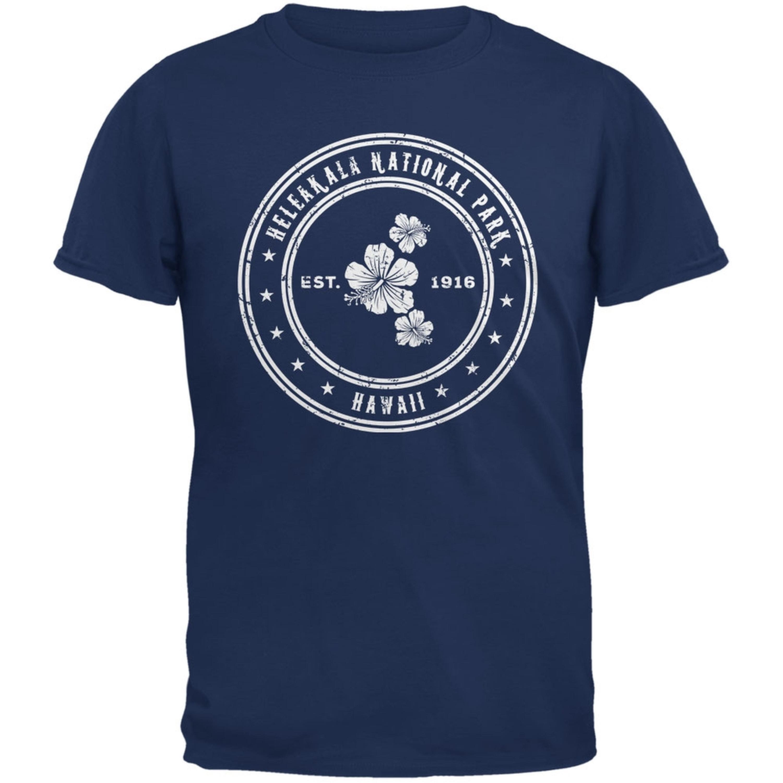 Haleakala National Park Metro Blue Adult T-Shirt