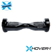 Hover-1 Refurbished Ultra Electric Hoverboard with LED Lights and 4 Hour Battery Life -Black