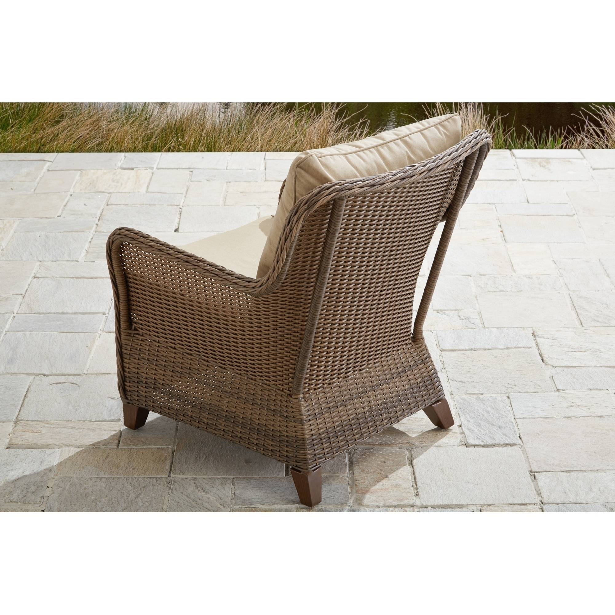 Metal outdoor club chairs - Better Homes And Gardens Camrose Farmhouse 4 Piece Conversation Set Walmart Com