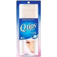 Q-Tips Cotton Swabs, 500 Count, (Pack of 2)