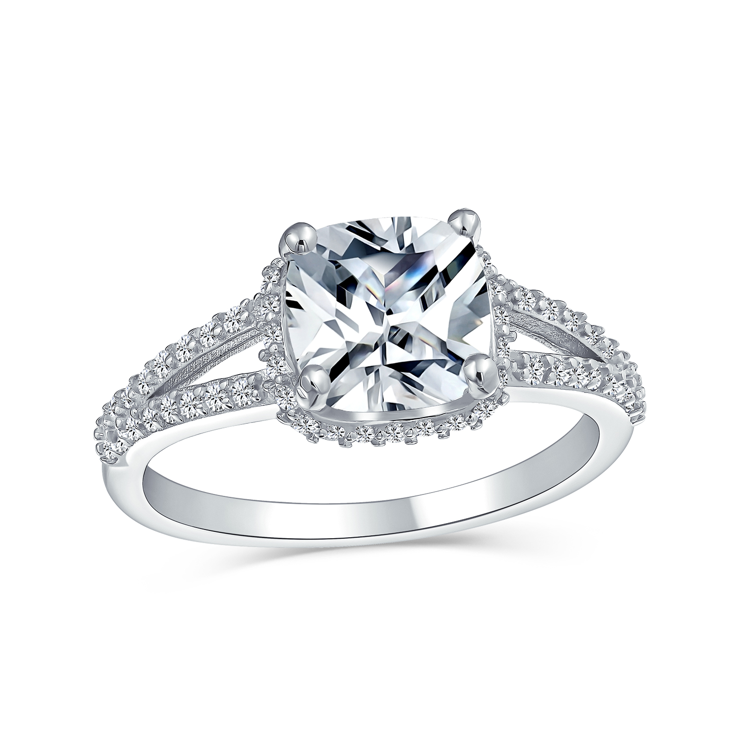 Ring Woman Engagement Love Diamond Women ring silver 925 wedding gifts gift for her jewelry charms Diamond accessories