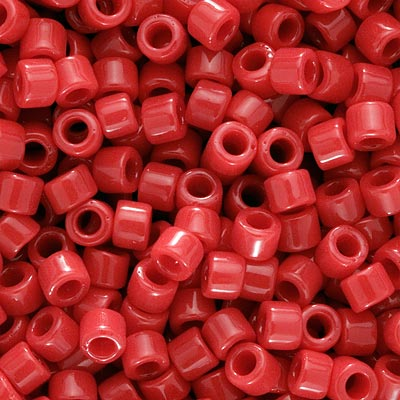 Miyuki Delica Seed Beads 15/0 Opaque Red DBS723 4 Grams