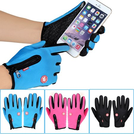 Unisex Ski Gloves Snowboard Gloves Motorcycling Touchscreen Winter Snow Windstopper Outdoor Riding Non-Waterproof Gloves - image 7 of 10