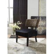 Ashley Parvin Gold/Black Accent Chair